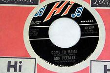 Ann Peebles: Come to Mama / I'm Leavin' You  [Unplayed Copy]