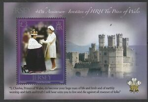 Jersey 2009 Investiture of Prince Charles M/Sheet MNH