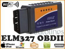 ELM327 OBDII OBD2 WiFi Car Diagnostic ECU Engine Scanner Tool iOS iPhone iPad