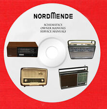 Nordmende Audio Repair Service owner manuals on 1 dvd in pdf format
