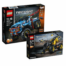 LEGO Technic 6x6 All Terrain Tow Truck & Volvo Concept Wheel Loader Twin Pack