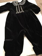 Class Club Baby girl 18month onepiece velvet jumpsuit, Free Shipping!