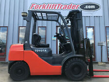 2013 Toyota 8fdu25 5000lb Pneumatic Tire Forklift With Side Shift