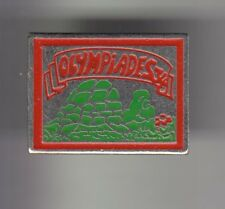 RARE PINS PIN'S .. ANIMAL TORTUE TURTLE OLYMPIQUE OLYMPIADES  MONTPELLIER 34~CY