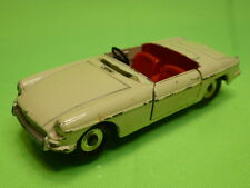 DINKY TOYS 113 MG B  OPEN TOP - BROKEN WHITE 1:43 - NICE CONDITION