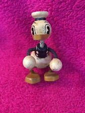 Rare Vintage Toy Young Epoch Disney Donald Duck 3.5in Wood Figure