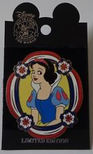 Disney Dlr Mickey's All American Pin Trading Festival Snow White Surprise Pin