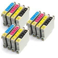 T0615 XL (non-OEM) Pack de 12 cartouches compatibles imprimantes Epson Stylus