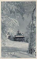 Vanocni a Novorocni Pozdrav im Winter AK alt Brno Brünn Tschechien Ceska 1606300