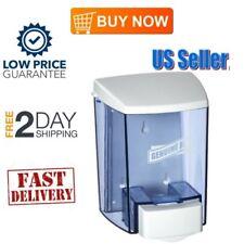 Manual 30 oz Wall Mount Liquid Soap Dispenser For Bathroom Kitchen Pump Hand NEW