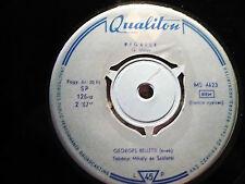 """GEORGES BELLETTI Pigalle/ Mon Coeur Est Un Violin 1961 Hongrie 45 single 7"""" HEAR"""