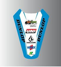 TM RACING 85 125 150 250 450 ALL YEARS MOTOCROSS REAR MUDGUARD GRAPHIC PRO G