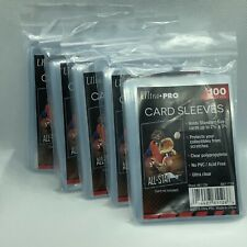 500 Ultra Pro Standard Penny Soft Card Sleeves Ultra Clear New Acid Free No PVC
