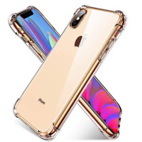 For iPhone XR Crystal Clear Protective Heavy Duty Case Soft TPU Bumper Slim Thin