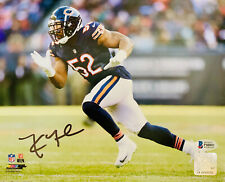 Chicago Bears Khalil Mack Signed 8 x 10 Photo Navy Rush Auto - Beckett BAS COA