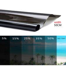 50CM 35% Car Window Glass Tint Solar Film Explosion Proof Heat Membrane Darken