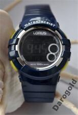 R2315KX-9, LORUS Watch, Digital, Plastic & Stainless Steel, WR100, Youth