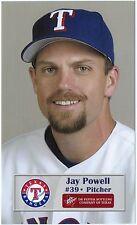 2003 Texas Rangers Dr. Pepper #24 Jay Powell SGA