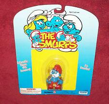 Papa Smurf PIPE SMOKING NEW card 1996 Schleich PEYO IRWIN Toys 420 Weed NOS Popa