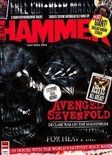 METAL HAMMER 12/2013 Pack AVENGED SEVENFOLD+STICKER+METAL v.2.1 CD+BEER MATS New