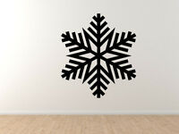 Snowflake Pattern #3 - Winter Art Christmas Decoration - Vinyl Wall Decal Decor