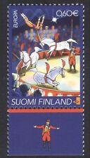 Finlandia 2002 Europa/Circus/Caballos/animales/Naturaleza/entretenimiento 1v (n39077)