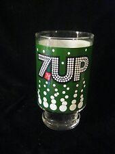 VINTAGE . 7-UP GLASS  24 OZ.