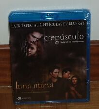 TWILIGHT / NEW MOON - PACK CREPUSCULO + LUNA NUEVA -2 BLU-RAY - PRECINTADO