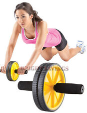 NEW Gold's Gym Ab Wheel Abs Abdominal Workout Roller 6 Pack