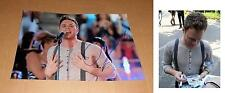 Olly Murs *My heart skips a Beat*, original signiertes Foto in 20x30 cm