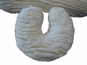 Prime Deluxe Fleece Head Rest Cover Massage Portable & Electric Extra Comfort
