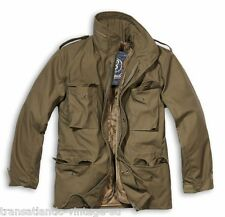 BRANDIT M65 JACKET WITH QUILTED LINER MENS MILITARY ARMY COMBAT FIELD COAT OLIVE