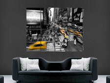Ciudad de Nueva York Manhatten Times Square cartel de arte en pared imagen grande gigante enorme