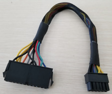 24 to 12 Pin ATX Acer Q87H3-AM Q87H3 AM Q Power Supply Motherboard Adapter Cable