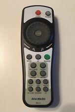 Genuine Avermedia Avervision Rm Lg Document Camera Remote Control