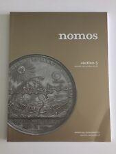 NOMOS AUCTION 5 CATALOG ANCIENT WORLD COINS OCT 2011 ZÜRICH SWITZERLAND