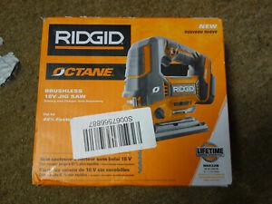 New RIDGID Octane R8832B 18V Brushless Jig Saw(TOOL ONLY)