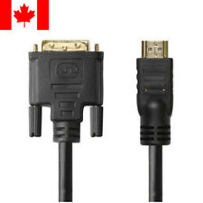 50ft HDMI Male to Male DVI-D Dual Link 28AWG Ferrite Cores For HDTV HD PC PS3