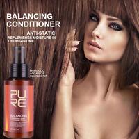 PURC Cheveux Équilibre Après-shampoing Spray Anti-statique Hydratante Soin +A