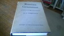 Russian Grammar B O Unbegaun HB