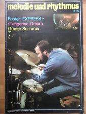 MELODIE UND RHYTHMUS 8 - 1980 * Günter Sommer EXPRESS Pink Floyd Tangerine Dream