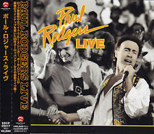 PAUL RODGERS - CD - PAUL RODGERS LIVE   ( Japan )