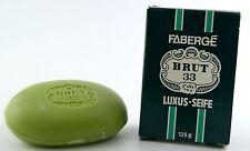 (GRUNDPREIS 23,92€/100g) FABERGE BRUT 33 LUXUS SEIFE 125g NEU OVP