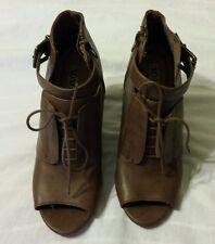 XOXO Women Wedge Shoes  6 M Brown