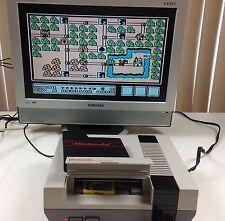 Nintendo NES Big Bundle +NES Advantage +Zapper +SMB3 TMNT2 Game Genie -FREE SH