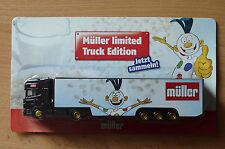 modèle Camion transport de la bière Scania Müller édition limitée HS 10