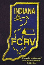 LMH PATCH Badge FAMILY CAMPERS RVers RV FCRV Friendship NCHA National Hikers IN
