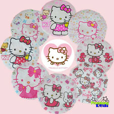 2 PCS Cute Hello Kitty Lady Girls PVC Shower Bath Cap Hat (Random delivery)