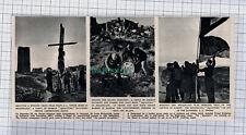 C774) Heligoland Prince Loewenstein German Student Squatters AA Tower - 1951