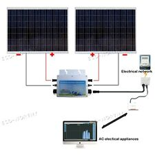 250w Watts 24v Solar Panel Polycrystalline for Charger Home Car Boat RV Yacht